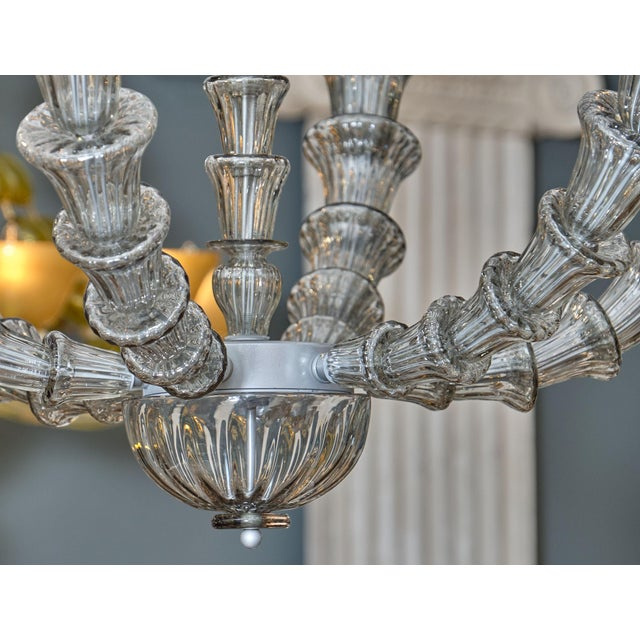 2010s Murano Glass Rezzonico Chandelier For Sale - Image 5 of 10