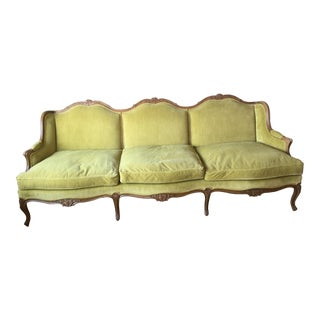 Baker MCM French Sofa For Sale