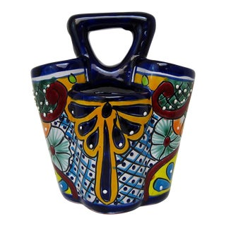 Mexican Ceramic Utensils Holder