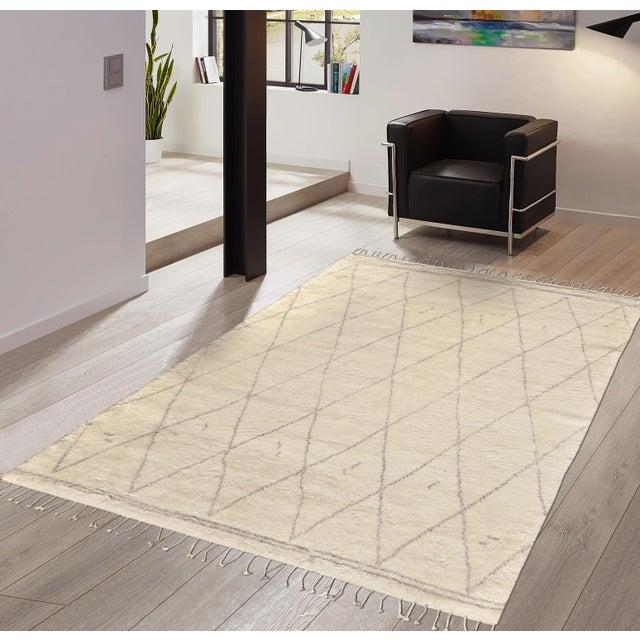 Casablanca Wool Area Rug - 12′ × 15′ - Image 4 of 5