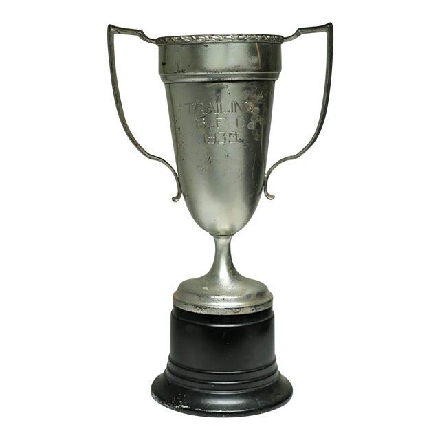 Early 20th C. Large Cup Tropy C. 1939 For Sale