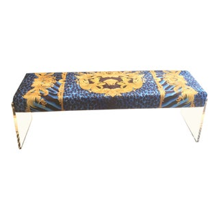 Custom Made Charles Hollis Style Bench For Sale
