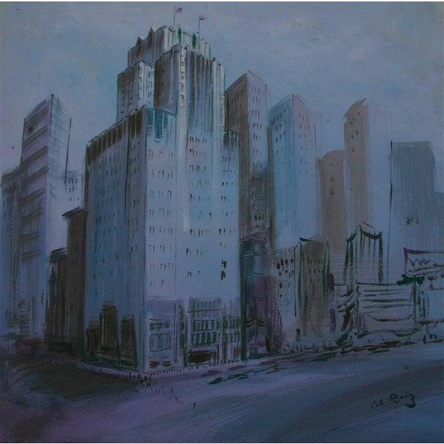 San Francisco Scene Painting - Image 1 of 4