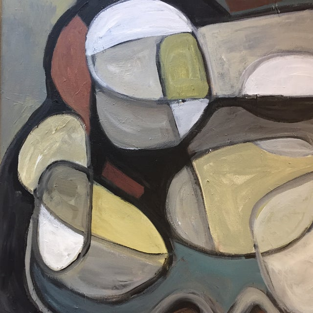 Abstract Original Abstract Painting by Stewart Ross For Sale - Image 3 of 7