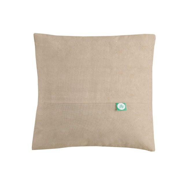 Warm Geometric Square Hook Pillow