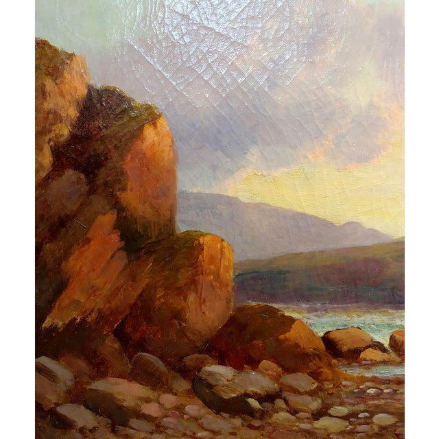 William Edward Webb - 19th Century Coastal Beach Scene -Oil Painting For Sale In Los Angeles - Image 6 of 11