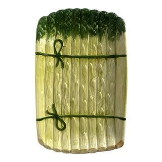 Vintage Porcelain Asparagus Dish For Sale