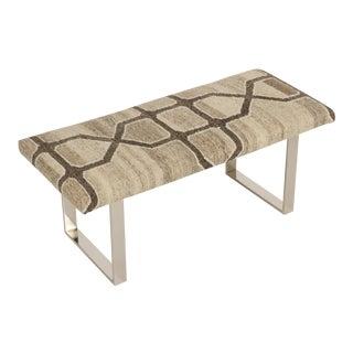 "BeBe Marakech Kilim 42""Bench For Sale"