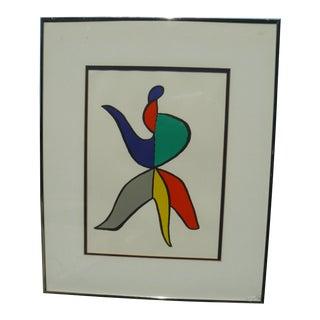 Alexander Calder Lithograph, 1963, Bouquet Phryngian From Derriere Le Miroir For Sale