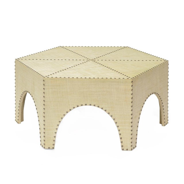 Palecek Palecek Casablanca Modern Coffee Table For Sale - Image 4 of 4