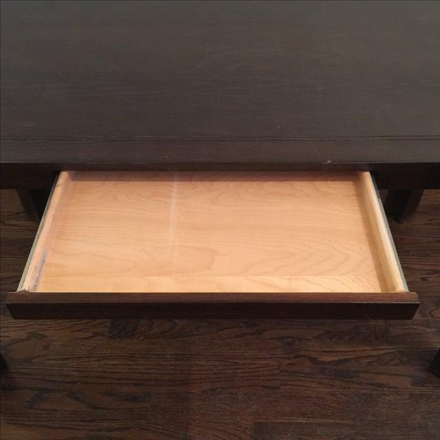 Keller Williams Mid-Century Parson Style Desk - Image 5 of 6