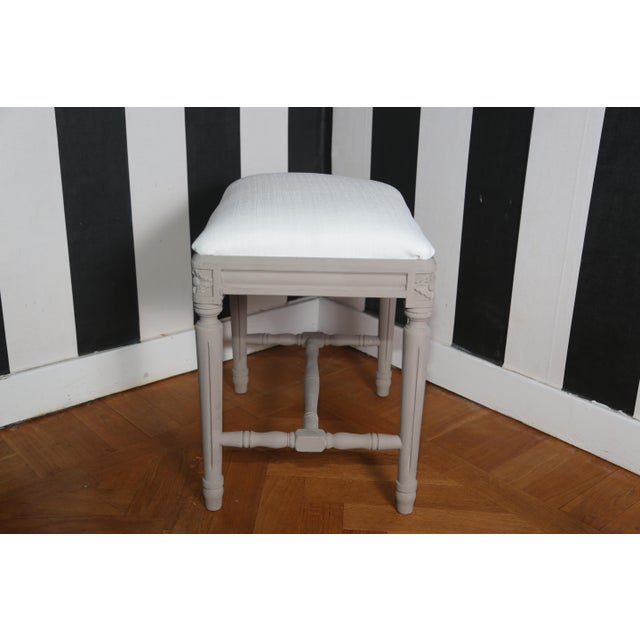 Mid 19th Century Pair of Swedish Gustavian Foot Stools, 19th Century For Sale - Image 5 of 7