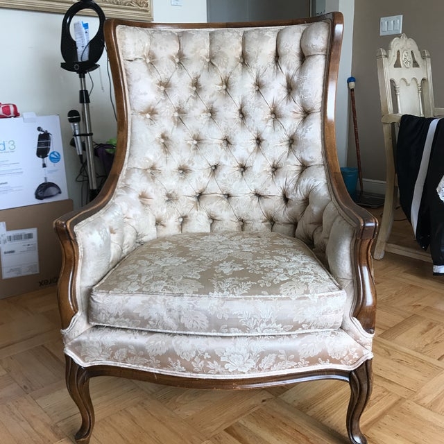 Bernhardt French Provincial Chair - Image 2 of 5