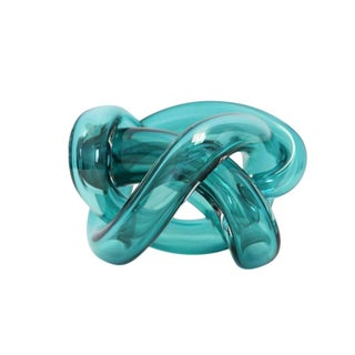 Wrap Object Glass Knot - Lagoon For Sale