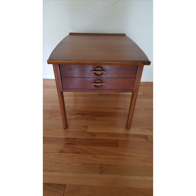 Lane Furniture Asian-Style Side Table - Image 2 of 5