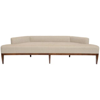 Exceptional Sleek Low Angular Sofa/Settee For Sale