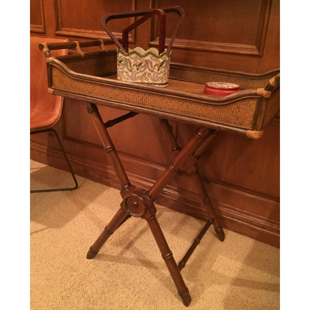 1990s Anglo- Indian Tray Table For Sale In New York - Image 6 of 6