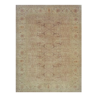 Handwoven Wool Revival Agra Rug For Sale