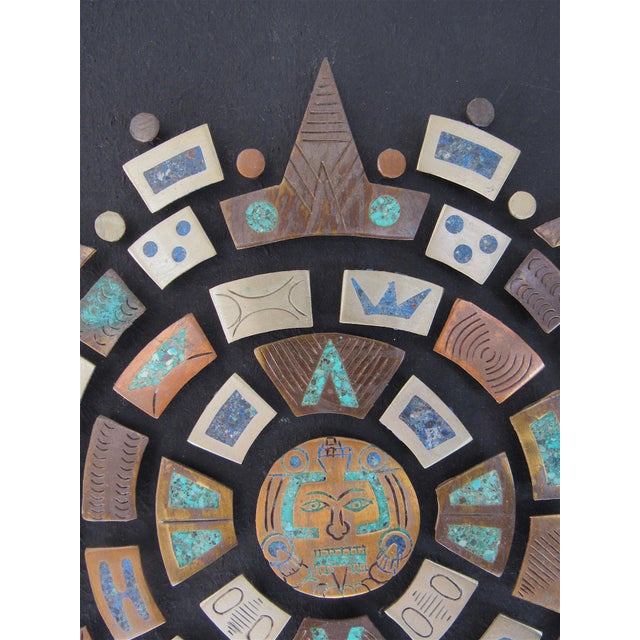 Mid Century Mexican Modern Wall Plaque For Sale - Image 4 of 9