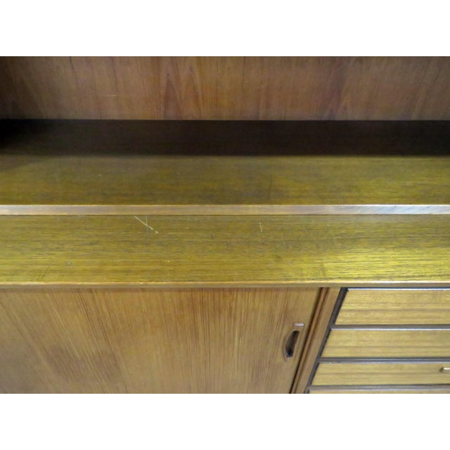 Mid-Century Modern Mid Century Italian Teak Sideboard / Credenza For Sale - Image 3 of 12