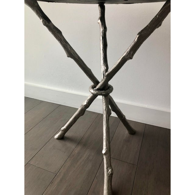 2010s Twig Branch Tripod Accent Tables - a Pair For Sale - Image 5 of 12