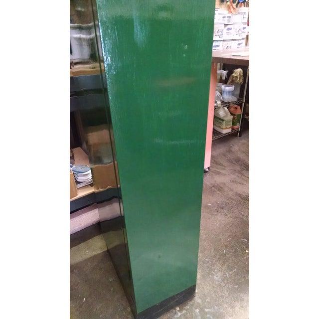 Vintage Metal Industrial Storage Locker For Sale In Minneapolis - Image 6 of 8