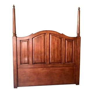 Bausman & Co. Country French Style Queen Headboard For Sale