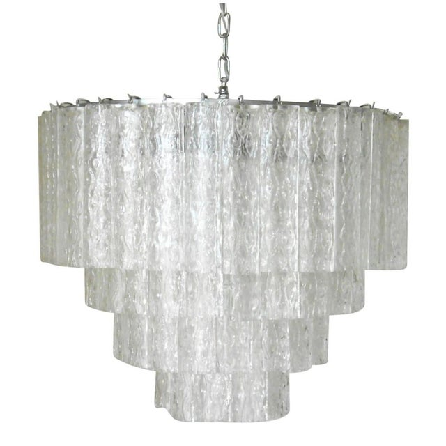 1960s Ovalini Chandelier by Venini For Sale - Image 5 of 5