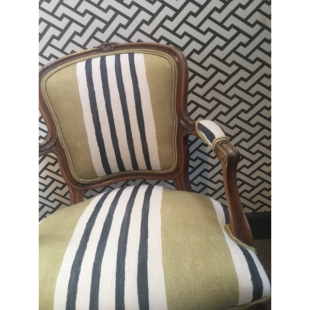 A Pair of Fateuil Chair For Sale - Image 5 of 5
