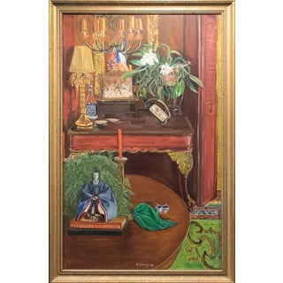 Late 20th Century Original Still Life Painting by Tom F. Woodruff For Sale