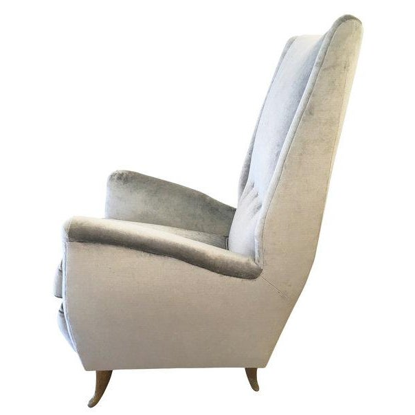 Mid-Century Modern ISA Armchair Attributed to Gio Ponti For Sale - Image 3 of 5