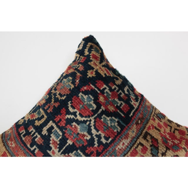 Antique Caucasian Rug Pillow For Sale In Baltimore - Image 6 of 10