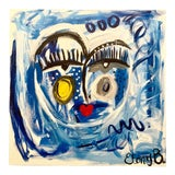 """Image of Ebony Boyd """"Kathleen"""" Abstract Face Painting For Sale"""