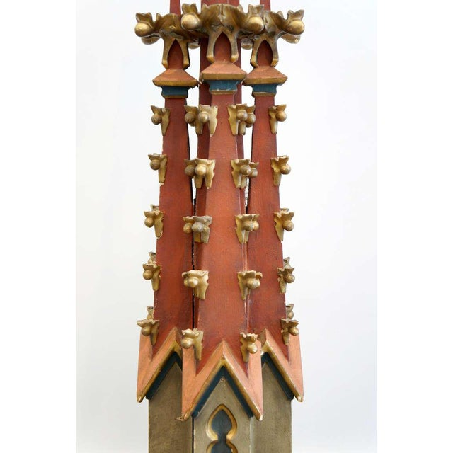 19th Century Monumental Gothic Spires For Sale - Image 4 of 10