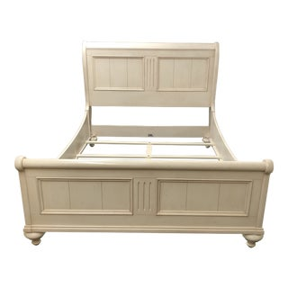 Ethan Allen Paneled Sleigh Queen Bed For Sale
