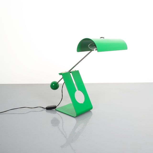 Mauro Martini Adjustable Counterweight Table Lamp Picchio, Italy, Circa 1965 For Sale - Image 13 of 13