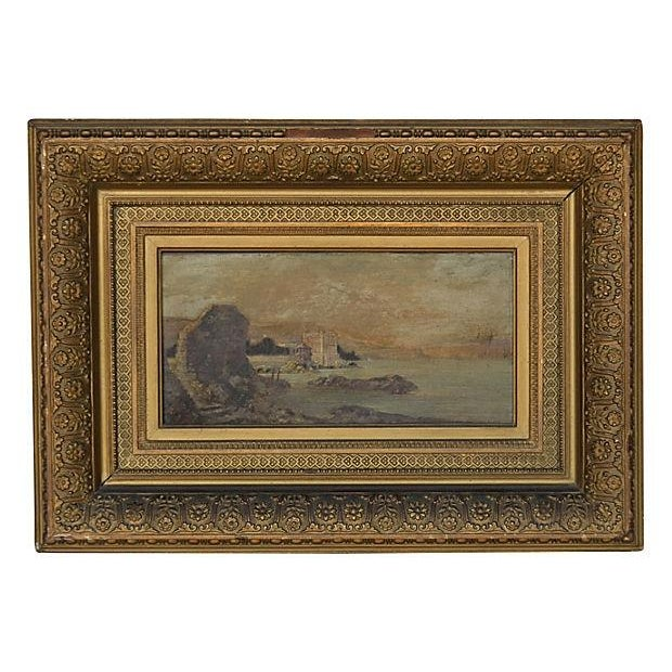 Continental Landscape Oil Painting - Image 1 of 3