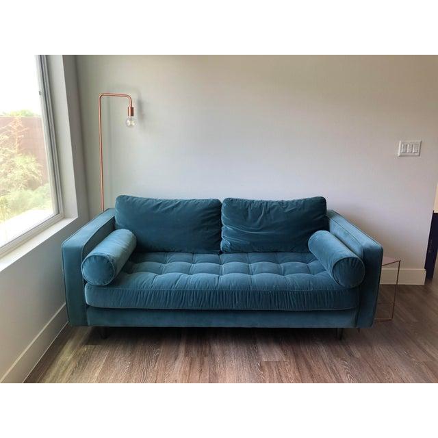 Article Sven Pacific Blue Sofa