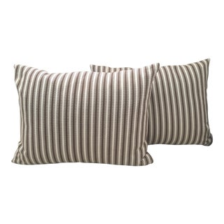 Anglo Indian Soane Britain Pillow Covers - a Pair For Sale