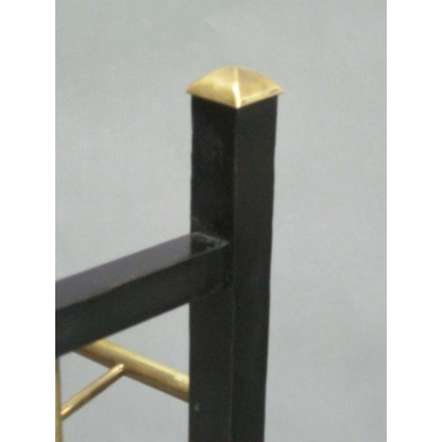 Gold Viennese Secession Etagere / Magazine Stand in the Style of Koloman Moser For Sale - Image 8 of 10