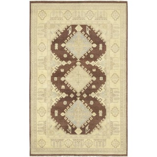 "Malik, Oushak Area Rug - 6' 1"" X 9' 8"" For Sale"