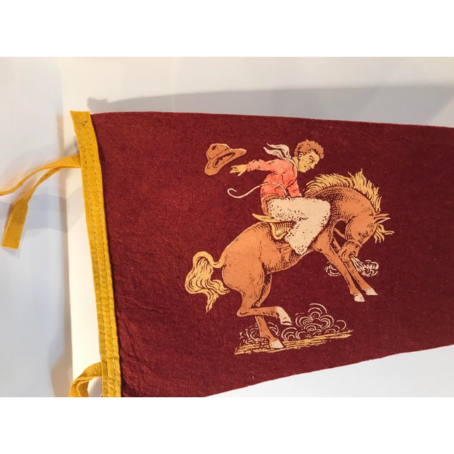 Vintage Odessa, TX Souvenir Pennant For Sale - Image 4 of 7