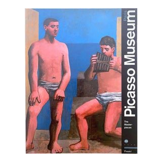 """ Pablo Picasso Museum Paris : The Masterpieces "" Vintage 1991 1st Edition Lithograph Print Modern Art Book For Sale"