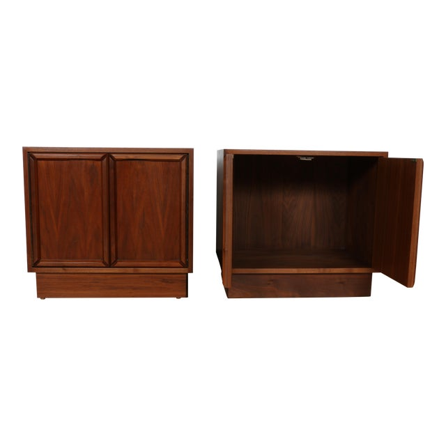 Brown & Saltman for John Keal Nightstands - A Pair For Sale