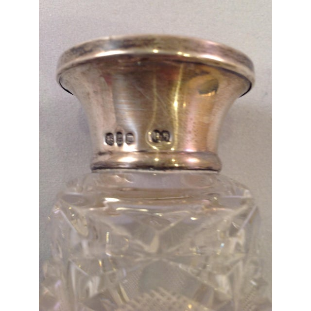 English Victorian Cut Glass Perfume Bottle For Sale In New York - Image 6 of 6