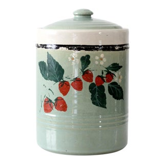 Vintage USA Pottery Cookie Jar For Sale