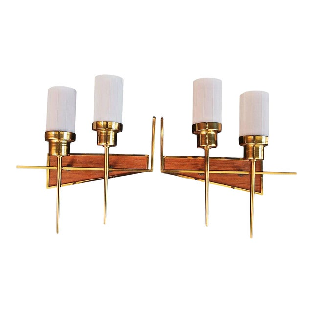 French 1950s Sconces - A Pair For Sale