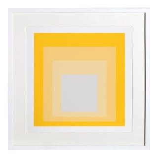 Josef Albers - Portfolio 1, Folder 20, Image 1 Framed Silkscreen For Sale