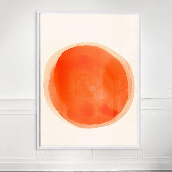 """Contemporary """"Clementine"""" Unframed Print For Sale - Image 3 of 3"""