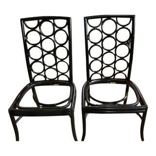 McGuire Laura Kirar Ringback Chairs - A Pair